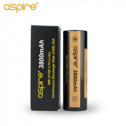 Aspire 21700 battery 3800 mah